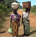 2 African rural wom loaded dwn 5-08