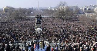 Obama Inauguration Crowd + 1-09